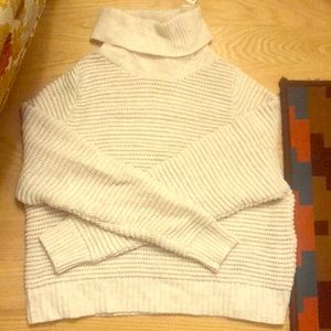 Madewell sidebutton turtleneck sweater